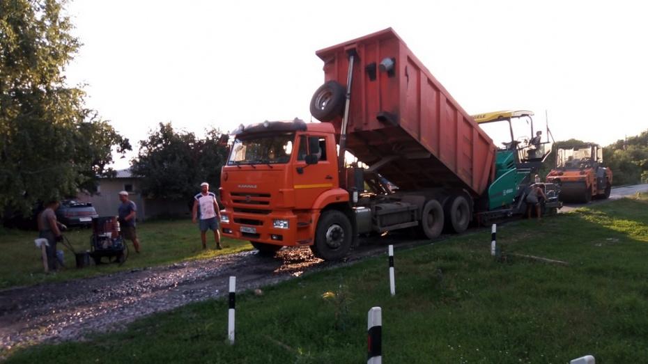 В Петропавловке на асфальтирование улиц направили более 12,5 млн рублей