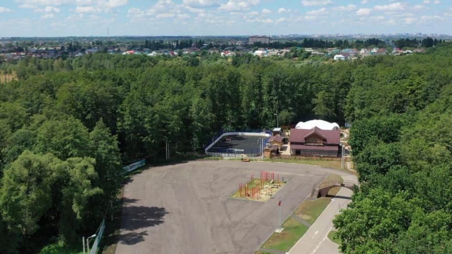 При строительстве площадки для масс-стартов под Воронежем нашли нарушения