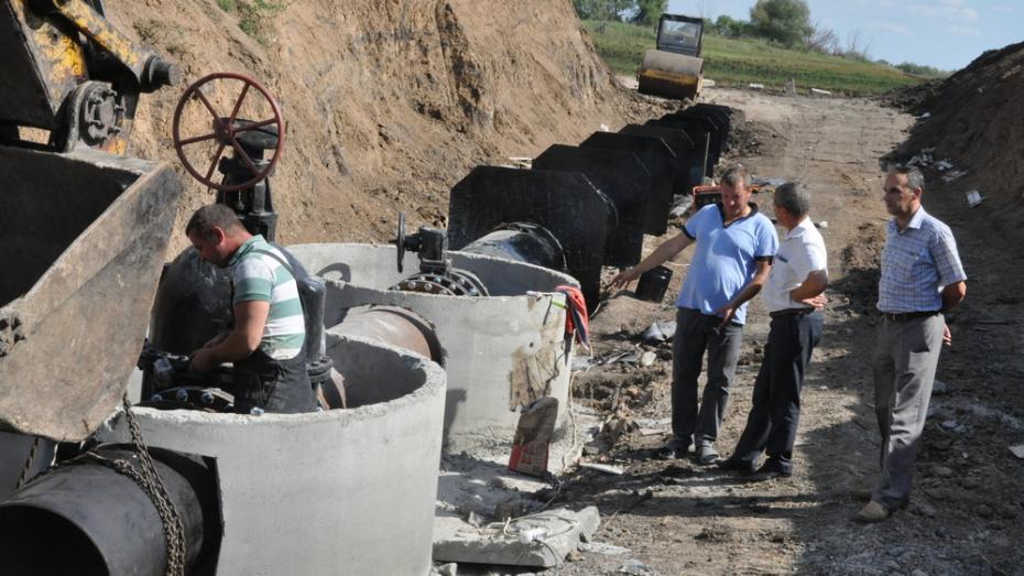В эртильском селе Борщевские Пески на капремонт плотины потратят 8,1 млн рублей