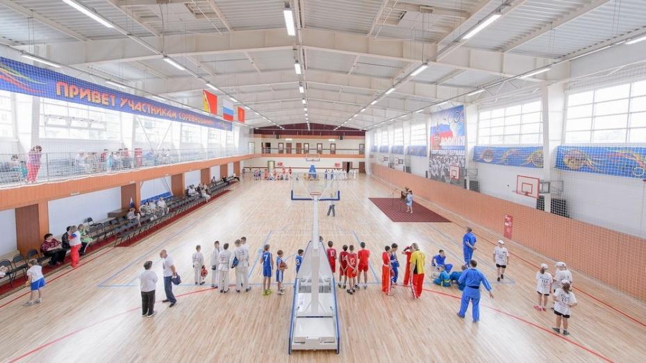 Власти потратят до 79,6 млн рублей на строительство спорткомплекса в Воронежской области