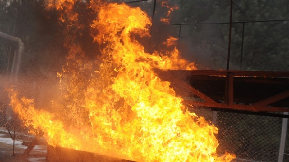 В Воронеже в микрорайоне Отрожка сгорел мужчина