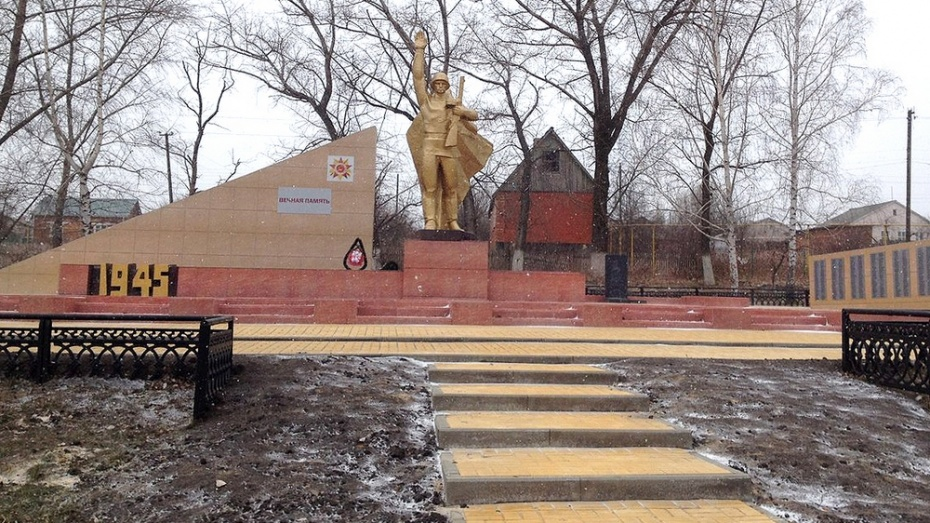 В Семилукском районе разработали маршрут «Марша бессмертия»