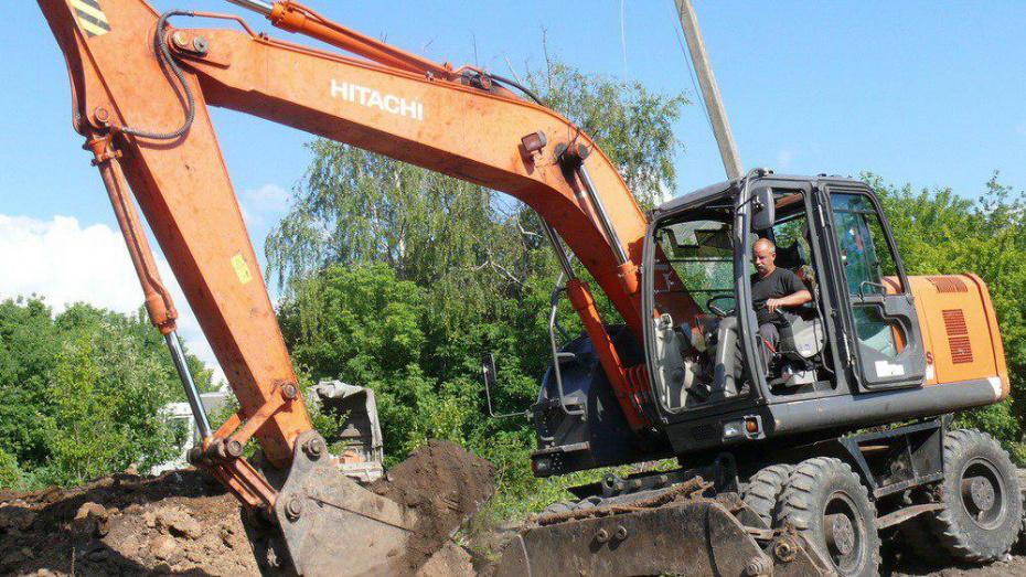 В поселке Грибановский проложат более 23 км водопровода