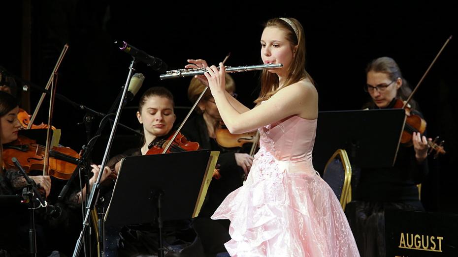 Воронежская флейтистка войдет во Всероссийский юношеский оркестр