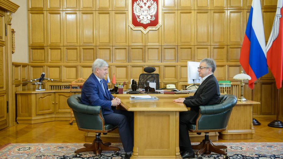 У губернатора Воронежской области появился новый советник