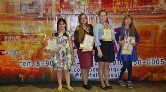 Хохольские школьницы стали лауреатами международного конкурса «Звезда столицы»