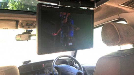 Воронежцы смогут смотреть цифровое телевидение в автомобиле