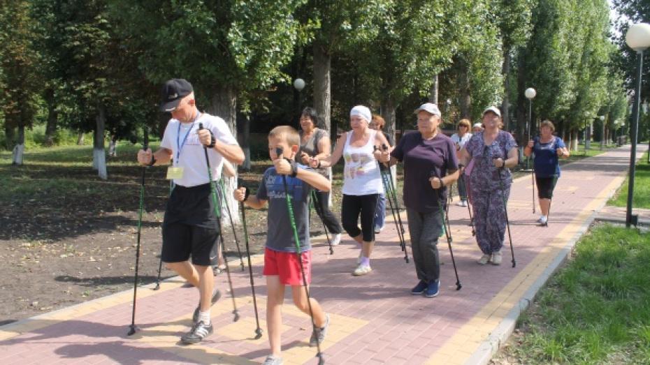 В Ольховатском районе пройдет день скандинавской ходьбы