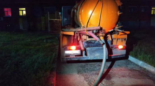 Около 250 кубометров ила привезли на ЛОС в Воронеже для восстановления погибших бактерий