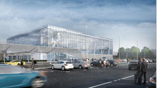 В Воронеже представили концепт нового терминала аэропорта
