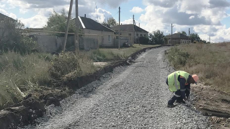 В Репьевском районе  отремонтируют дороги на 36 улицах