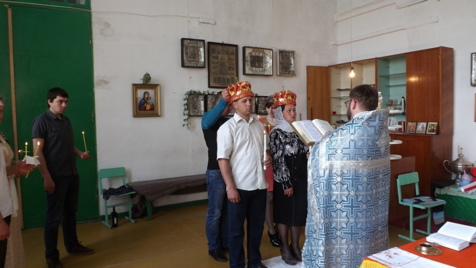 В 2 храмах новохоперского села Троицкое после 80-летнего перерыва возобновились церковные службы