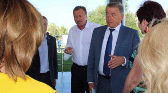 Воронежский сенатор Сергей Лукин посетил село Архангельское в Аннинском районе