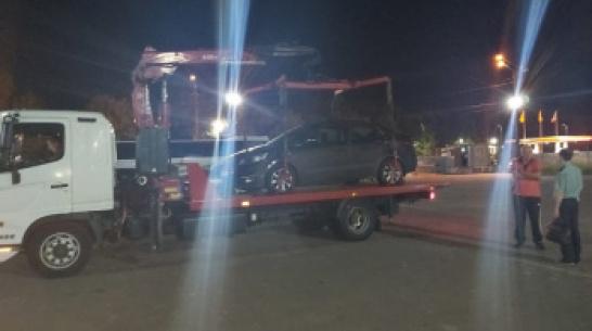 В Воронеже арестовали машину мужчины, задолжавшего более 120 тыс рублей по штрафам ГИБДД