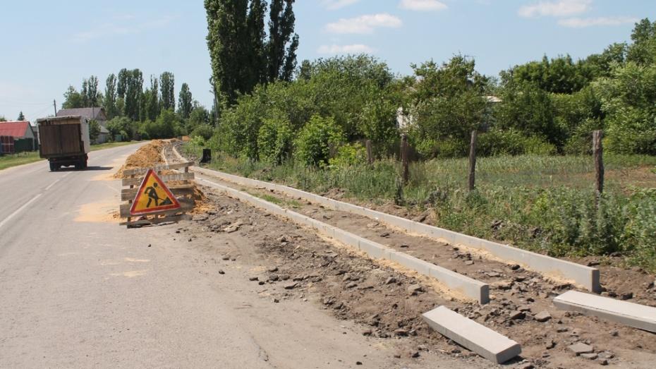 В хохольском селе Гремячье на ремонт дорог потратят 4 млн рублей