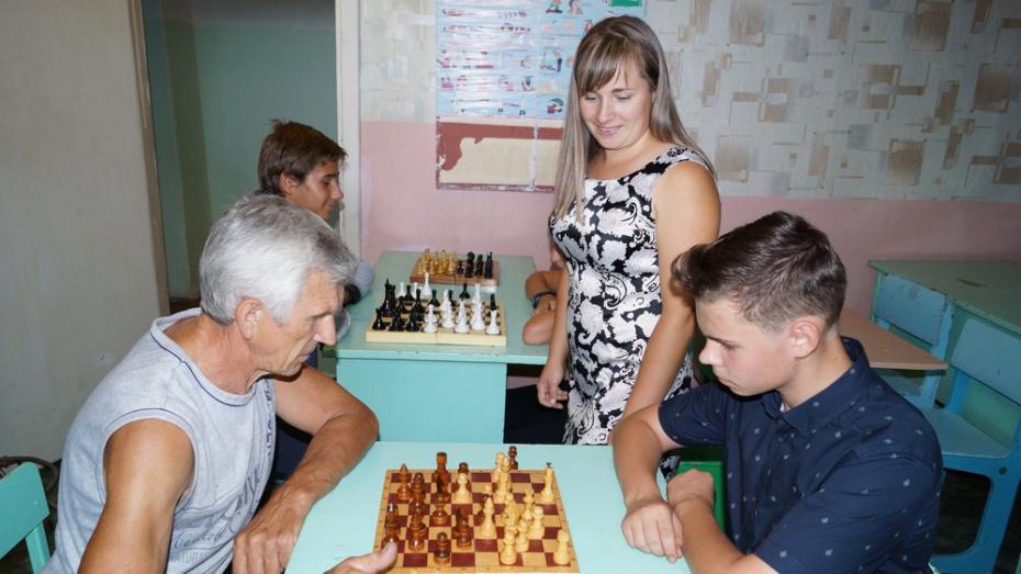 В Хохольском районе  областной шахматный турнир пройдет 29 сентября