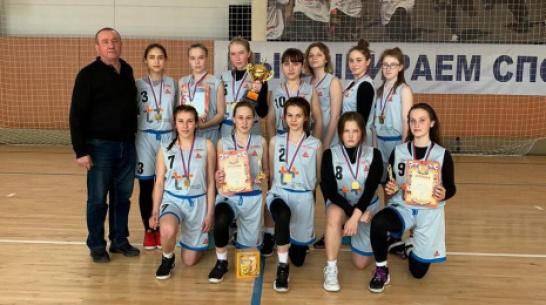 Эртильские баскетболистки заняли 1-е место в межобластном турнире
