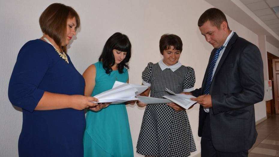 В кантемировские школы пришли 4 молодых учителя