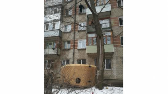 В Воронеже для поимки вора использовали автовышку и «куб жизни»