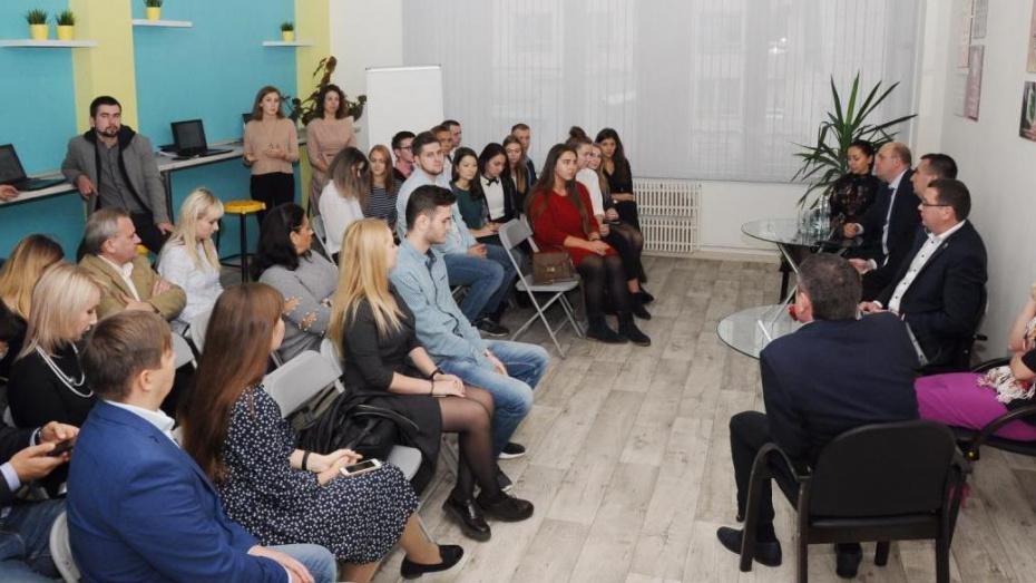 Воронежский опорный университет открыл коворкинг-центр