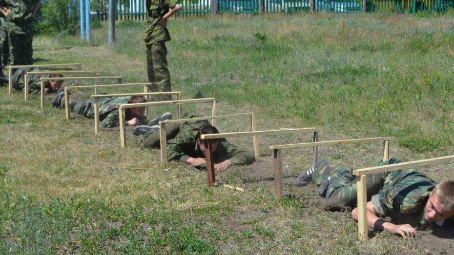 Спортсмены Верхнемамонского казачьего кадетского корпуса завоевали  третье место на спартакиаде ЦФО