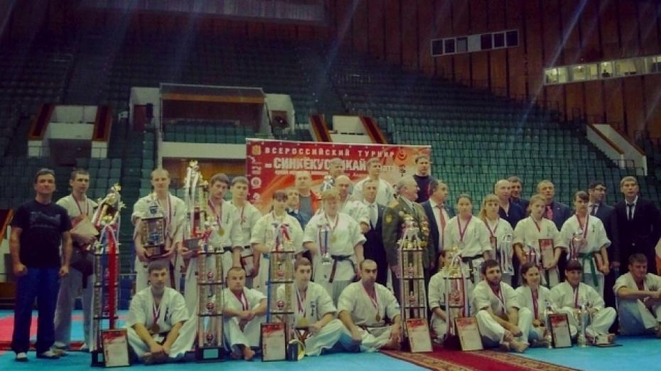 Каширский спортсмен стал победителем Всероссийского турнира по киокусинкай каратэ