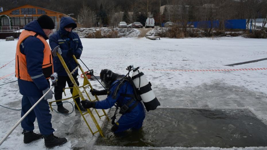 Воронежцам нестоит купаться вчетырех местах наКрещение