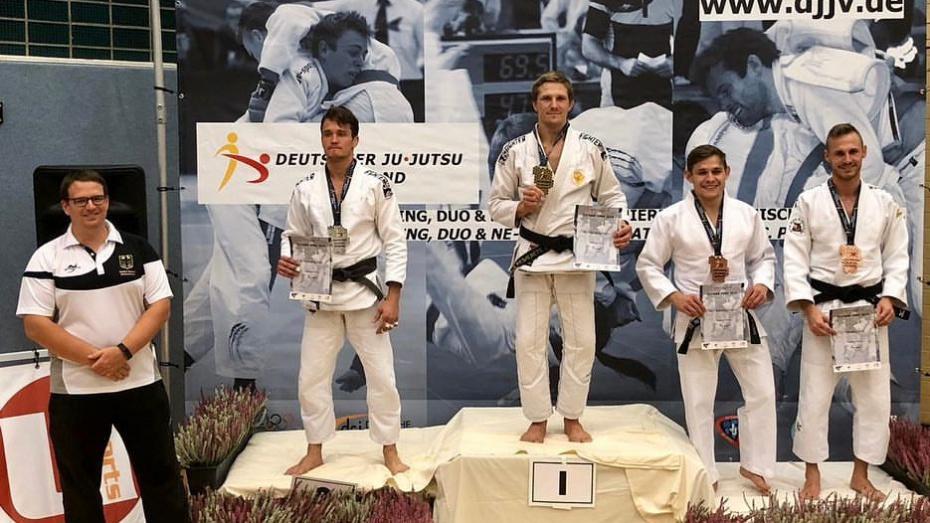 Воронежский боец завоевал золотую медаль на международном турнире по джиу-джитсу