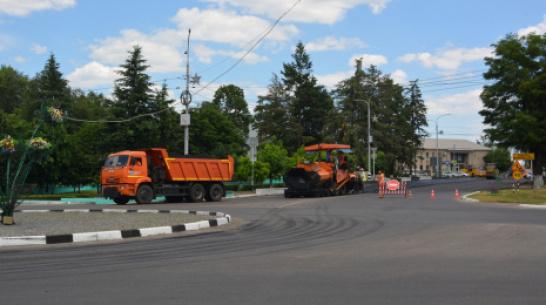 В Россоши на ремонт дорог потратят 57 млн рублей