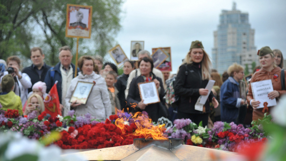 Воронежцам предложили организовать виртуальное шествие «Бессмертного полка»