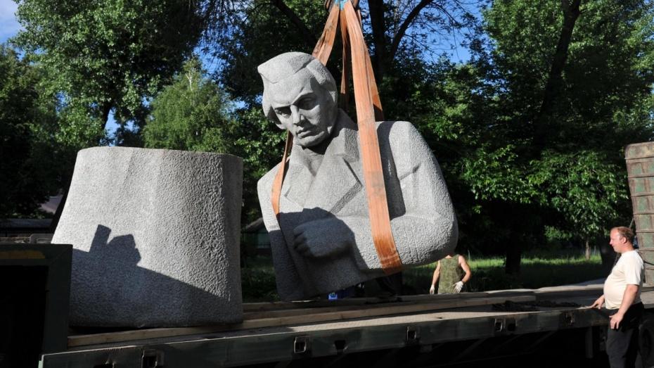 Памятник Кольцову в Воронеже установят до 5 сентября
