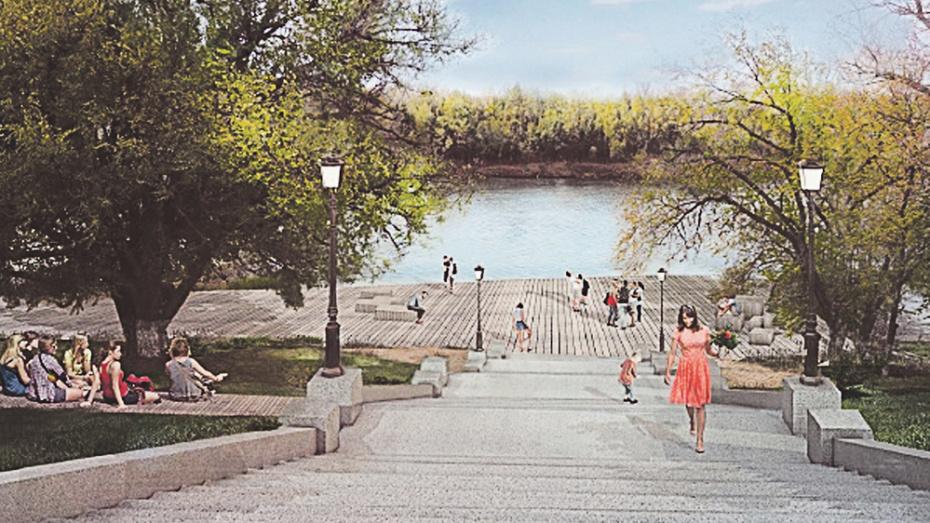 Павловчане выбрали для благоустройства в 2021 году набережную реки Дон