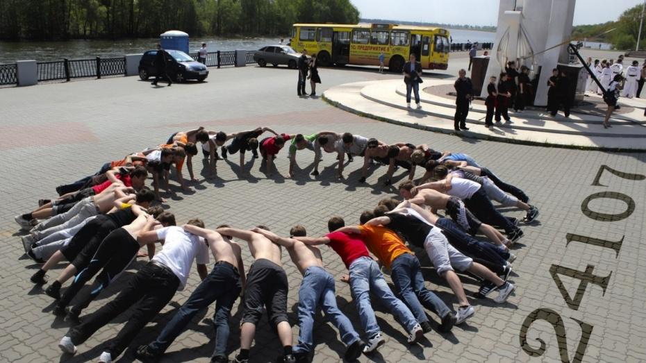 Воронежцы установят «Рекорд Победы»