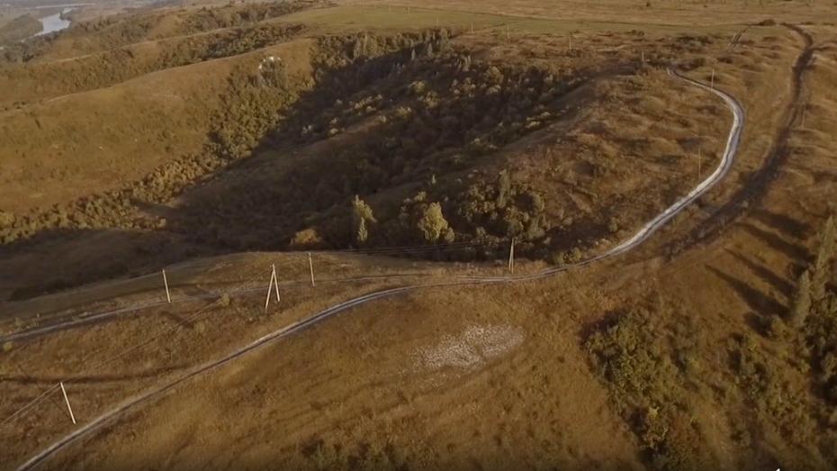 Воронежец снял видеоролик о древних курганах Хохольского района