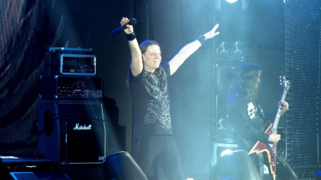 В Воронеже группа «Кипелов» чуть было не опоздала на собственный концерт