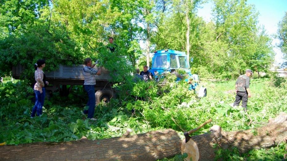 В Бутурлиновке обновят парк культуры и отдыха