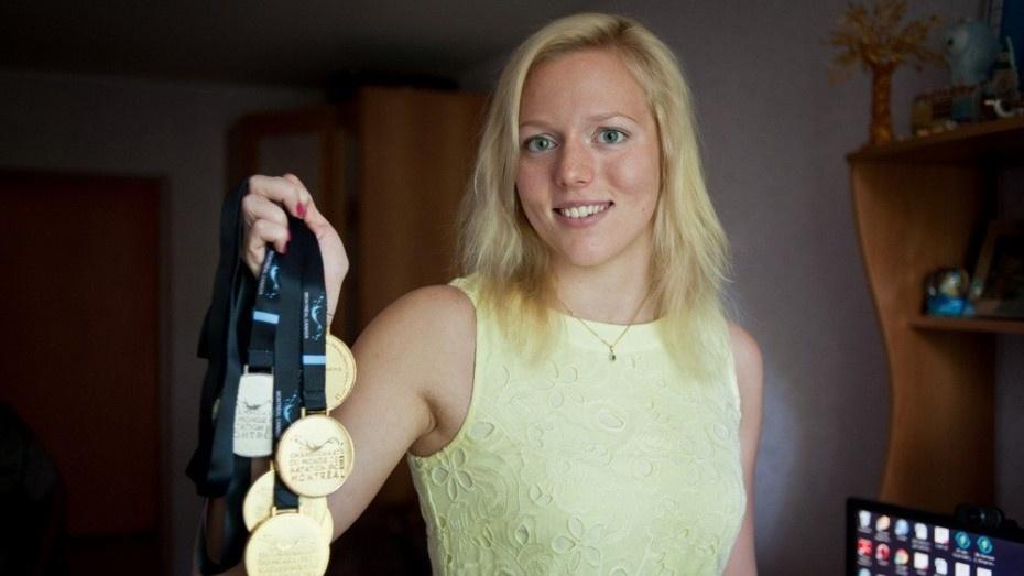 Воронежская пловчиха Дарья Стукалова завершила чемпионат мира IPC золотой медалью