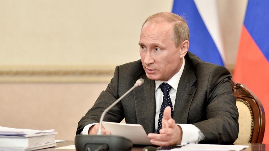 Президент Владимир Путин проведет в Воронеже совещание