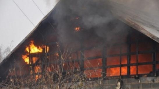 В Воронежской области при пожаре погиб мужчина: его 93-летнюю мать спасли
