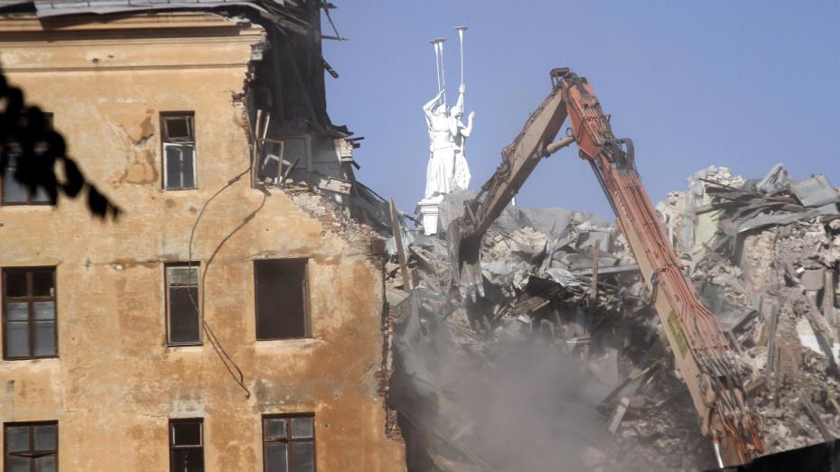 В 2018 году в Воронеже снесли 22 аварийных дома