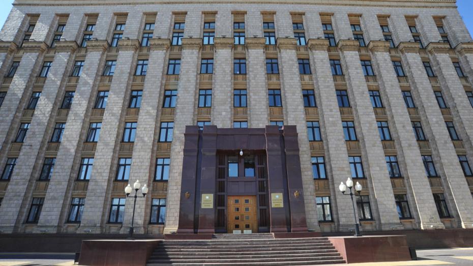 В правительстве Воронежской области создали новое управление
