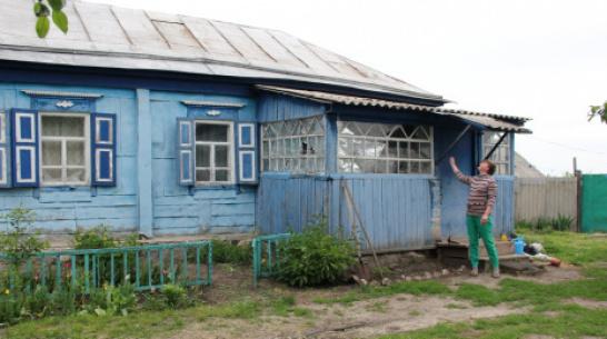 Семье погорельцев из петропавловского села Бычок помогли  купить дом