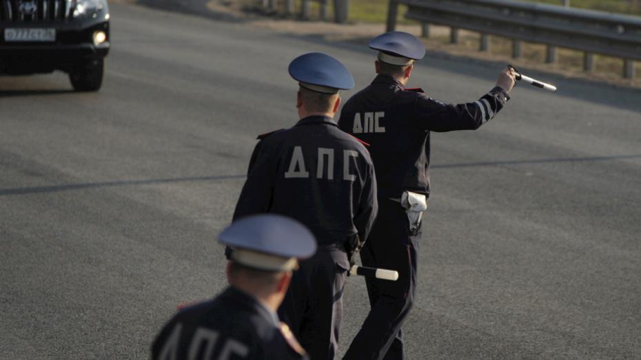 В Воронеже с начала года задержали более 600 пьяных водителей
