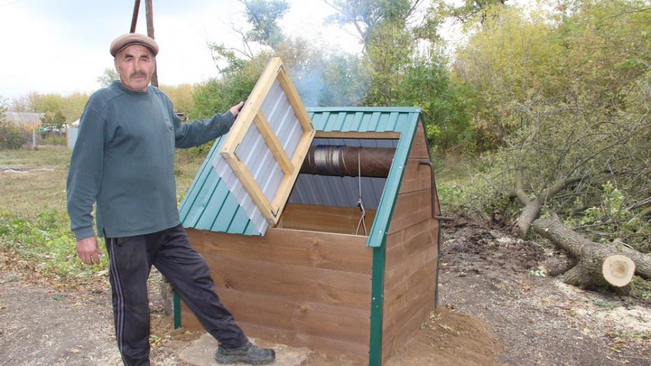 В новохоперском поселке Централь активисты благоустроили 6 колодцев