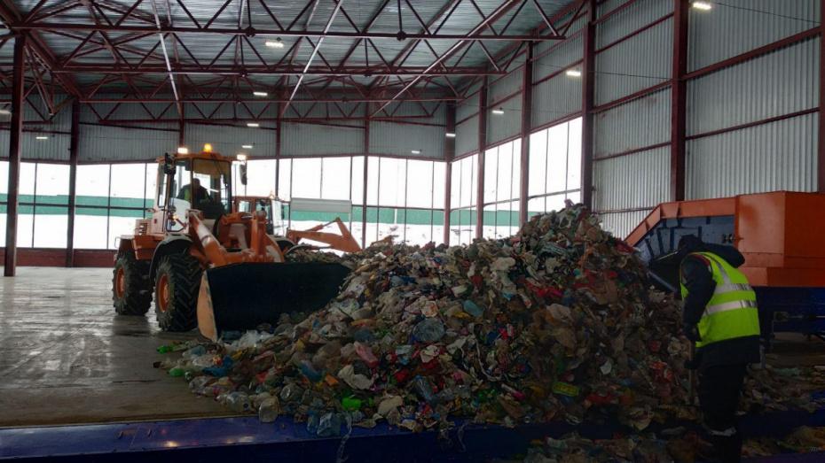 ВВоронежской области сегодня открыли 1-ый мусоросортировочный завод
