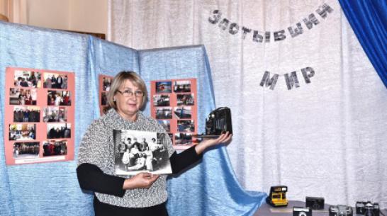 В Бутурлиновском краеведческом музее открылась выставка фотоаппаратов