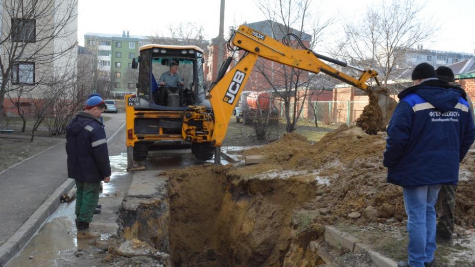 В Богучаре военный городок остался без воды