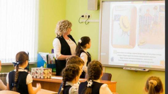 Правительство Воронежской области поддержит рублем молодых учителей сельских школ