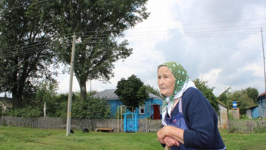Терновские энергетики запросили 39 тыс рублей за спиливание тополей у дома пенсионерки