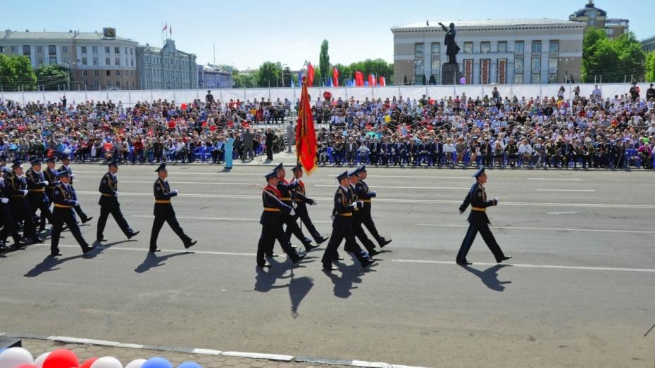 Губернатор и спикер облдумы поздравили воронежцев с юбилеем Победы